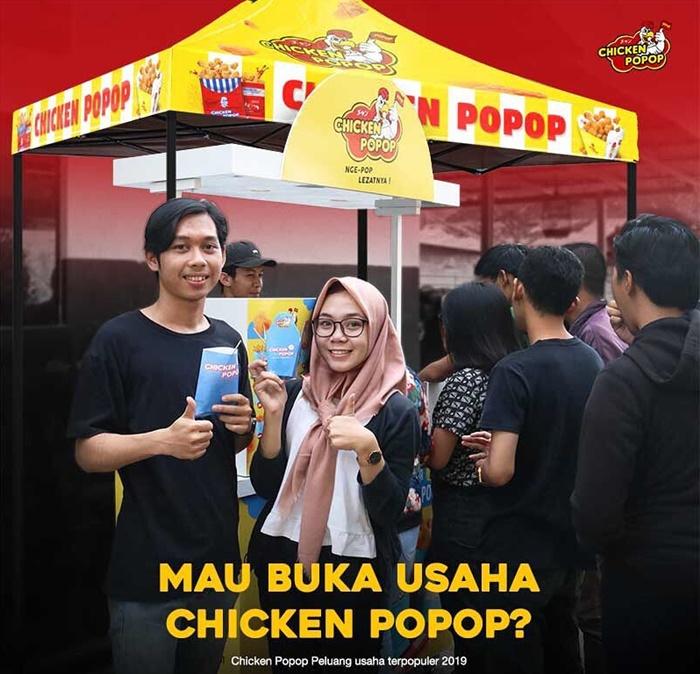 Peluang Usaha Franchise Kuliner Chicken Popop - IGchickenpopop.id